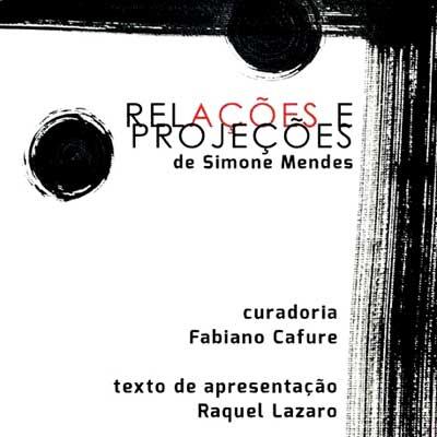 rioecultura : EXPO Relações e Projeções [Simone Mendes] : Espaço Cultural da Defensoria Publica do Rio de Janeiro (ADEPERJ)