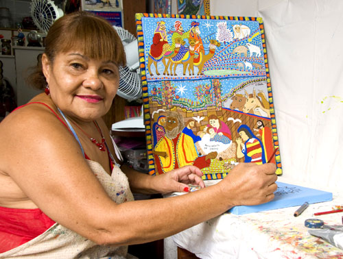 rioecultura : EXPO Pinturas de Ermelinda